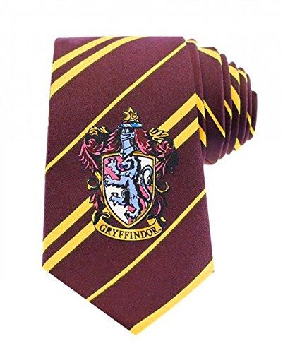 Harry Potter Gryffindor corbata con casa Escudo Disfraz Accesorio ...