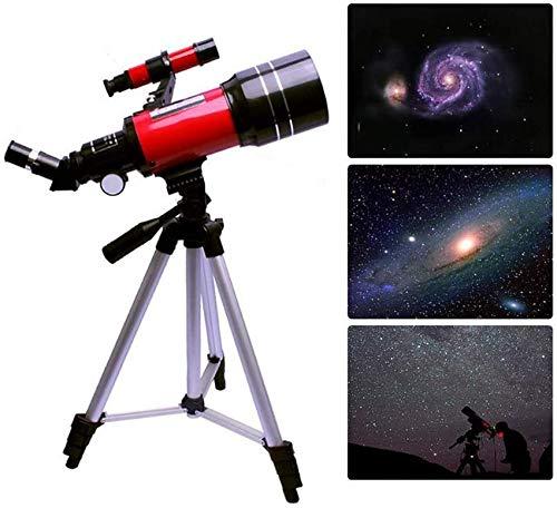 Telescopio De Estrellas para Niños Principiantes, Telescopio De Viaje con Trípode Y Buscador, Buen Compañero para Ver La Luna Y El Planeta, Niños, Educación Y Regalo