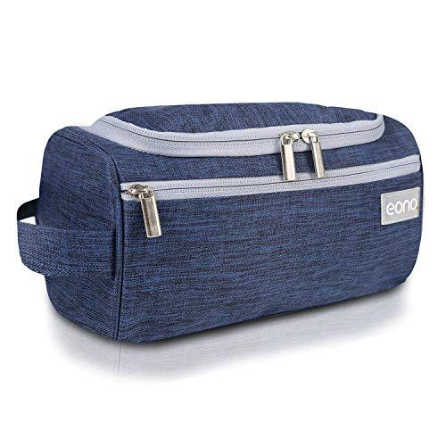 Eono by Amazon - Kulturtasche zum Aufhängen Toilettentasche Waschbeutel Rasiertasche Kulturbeutel Toiletry Bag Wash Bag Kulturtaschen für Damen und Herren, Navy