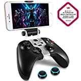 WEPIGEEK Adjustable Wireless Controller Phone Clip Mount Holder Clamp Compatible with Xbox/Xbox One/Xbox One S/Elite Bluetooth Gamepad