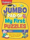 Jumbo Pad of My First Puzzles (Highlights Jumbo Books & Pads)