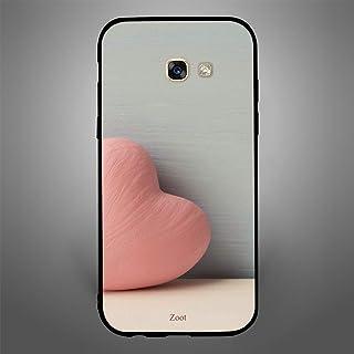Samsung Galaxy A5 2017 Peach heart, Zoot Designer Phone Covers