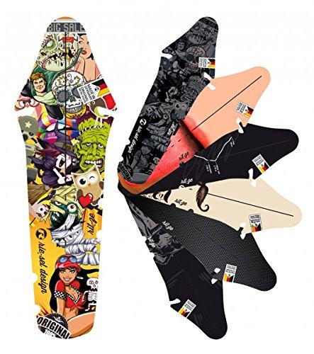 Quantio Fender ri:TZE - Schutzblech - Spritzblech - Mudguard - Radschutz - Fahrradschutzblech - Fahrrad - MTB - Bike - Steckschutzblech, Motive:Stickerbomb