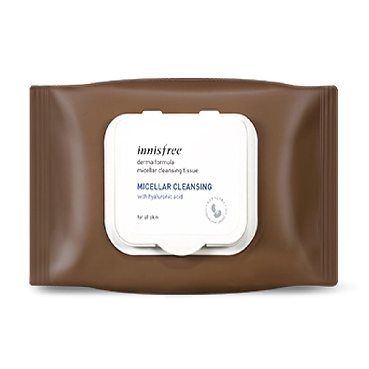 合理化すき肌寒いイニスフリーダーマフォーミュラミッラールクレンジングティッシュ30枚入り Innisfree Derma Formula Micellar Cleansing Tissue 30 Sheets [海外直送品][並行輸入品]
