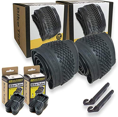 29 inch Bike Tire Replacement Kits for Your 29in Mountain Bike. Includes Tire Lever Tools. with or Without Tubes Choose 1 or 2 Packs. (2 Tires - No Tubes)