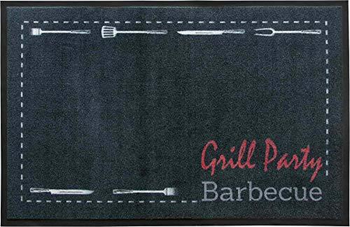 Primaflor - Ideen in Textil Tapis de Protection de Sol Barbecue - 80 x 120cm Party Tapis Antidérapant BBQ   Résistant   5 Modèles Attractifs   Tapis de Grill