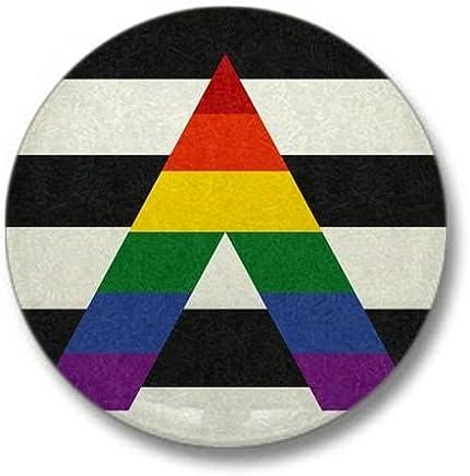 """CafePress Ally Flag Mini Button 1"""" Round Mini Button"""