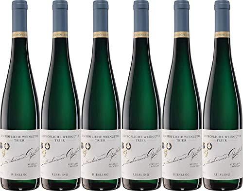 Bischöfliche Weingüter Trier Trittenheimer Apotheke Riesling Spätlese 2015 Trocken (6 x 0.75 l)