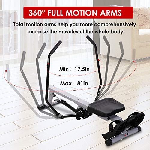 MARNUR Full Motion Rowing Machine