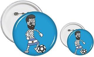 Argentine Mummy Football Sports Pin's Badge Design Kit Loisirs Créatifs