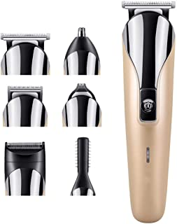 Mens Hair Clippers Set, Professional Hair Clipper, 6-In-1 Multifunctional Hair Clipper, Hair Clipper Set, Including Razor,...