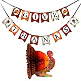 FRIDAY NIGHT Thanksgiving Day Turkey Banner kit Decorations Thanks Giving Party Supplies