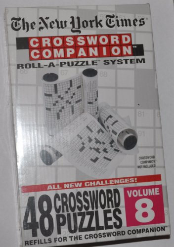 #3805 NEW YORK TIMES CROSSWORD COMPANION PUZZLE VOL#5 Herbko International Inc