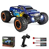 MIEBELY Fast RC Cars – 4x4 Remote Control Car for Adults and Kids – 1:16 Scale Electric Powered 42km High Speed – 4WD All Terrain Off Road Truck – Ideal for Kids and Adults – 2 Rechargeable Batteries