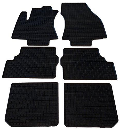 günstig Petex Gummi Auto Matte 4 Einheiten, schwarz, langlebig wegen hoher Verschleißfestigkeit,… Vergleich im Deutschland