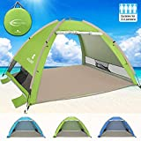 G4Free Large Pop Up Beach Tent 3-4 Person Sun Shelter Portable...
