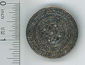 Warwick Miniatures Dollhouse Miniature Round Polished Pewter Shield