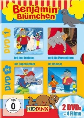 Benjamin the Elephant - Series (Benjamin Bl??mchen) [Reg. 2] by J??rgen Kluckert