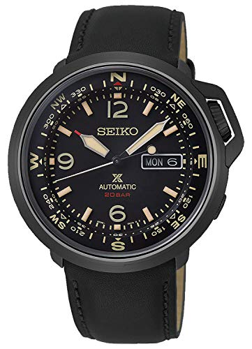 Seiko prospex Reloj para Hombre Analógico de Automático con Brazalete de Piel de Vaca SRPD35K1