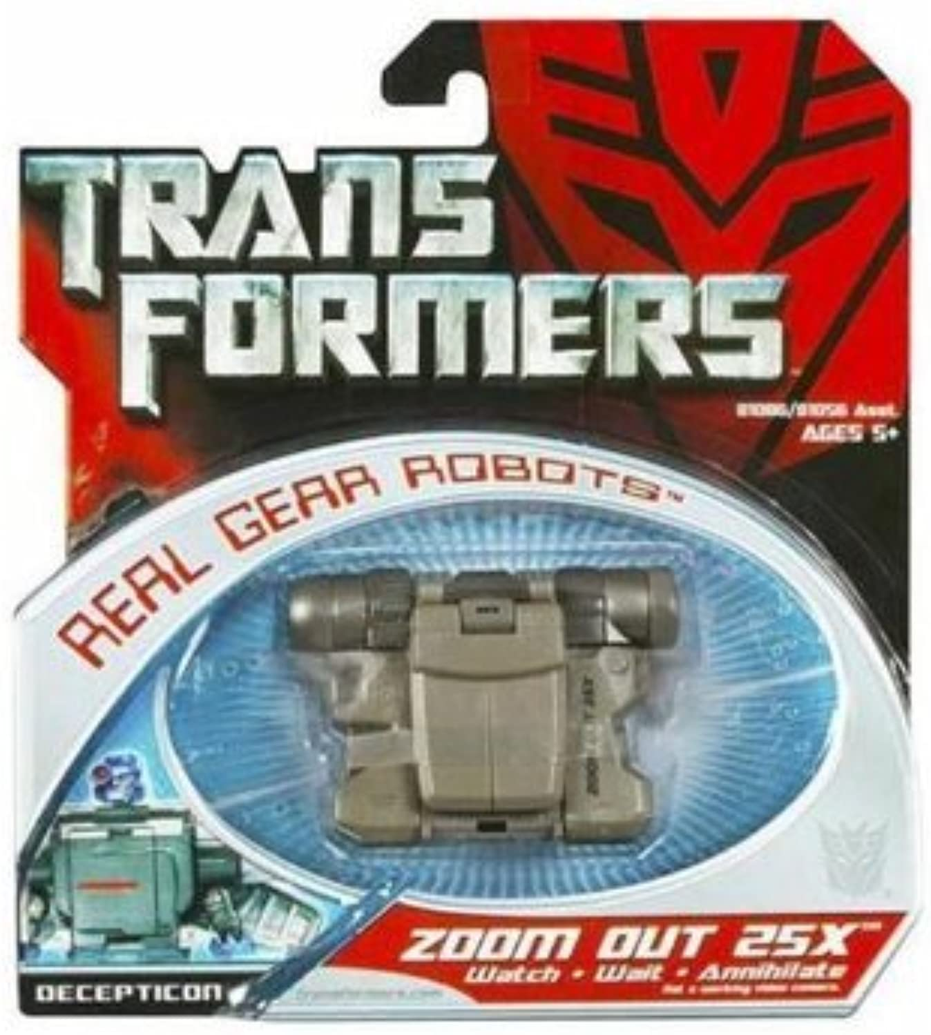 Transformers Real Gear Robots Zoom Out 25X by Hasbro