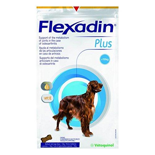 Vetoquinol - Flexadin Plus - Taglia Media e Grande 1 Confezione da 30 Tavolette