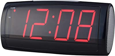Xiao Jian- Gran carácter Moda LED Reloj Alarma Electrónico Niño Snooze Old Man Silent Luminous