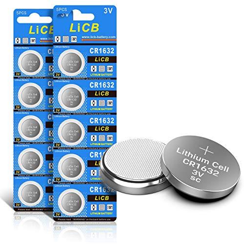 LiCB CR1632 CR 1632 3 V Lithium-Batterie (10 Stück)