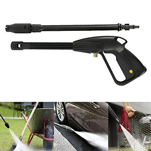 Lange düse sprühpistolen, 2in1 Multifunktion KFW Hochdruck Wassersprühpistolen, für Hausgarten Reinigungswerkzeug