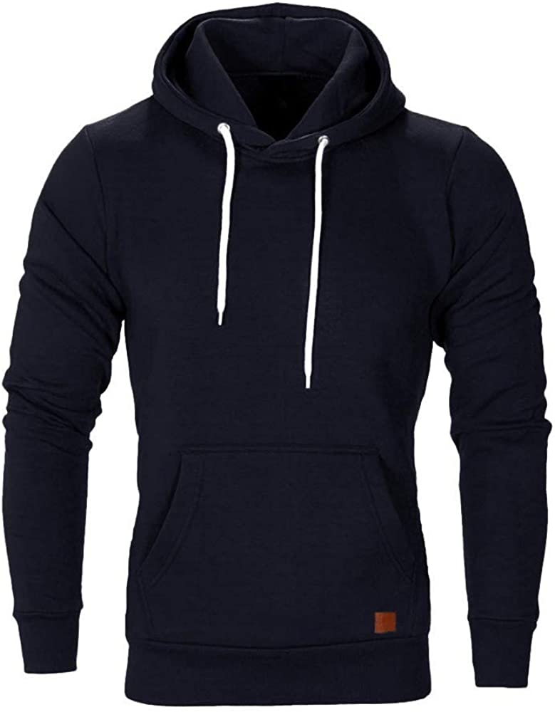 Hoodies for Men Camouflage Workout Sweatshirt Sports Pullover Casual Comfy Loose Long Sleeve Hoodies