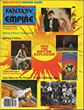 Fantasy Empire, no. 10 (April 1984) (British Explosion): Doctor Who, Monty Python's Meaning of Life, Star Wars/Lord of the Rings, Fireball XL5, Chris Achilleos, Arthurian legends, Sapphire & Steel