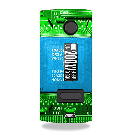MightySkins Skin Compatible with Smoant Battlestar 200W - Circuit Board | Protective, Durable, and Unique Vinyl Decal wrap Cover | Easy to Apply, Remove, and Change Styles | Made in The USA
