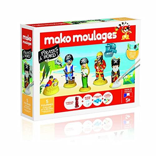 mako moulages Coffret Pirates à Bord-39067, 39067