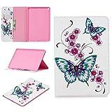 Lindo Panda Owl Butterfly Flower Design Tablet Stand Card Slot Case compatible con iPad Mini 5ª generación 2019 7.9 pulgadas (4)