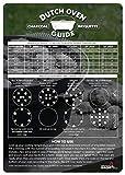 Dutch Oven Charcoal Briquettes Magnetic Cheat Sheet/Briquette Temperature Conversion Chart - The...