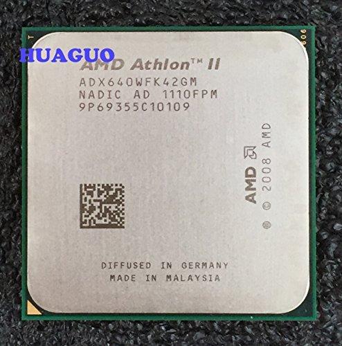 AMD Athlon II X4 640 ADX640 - Procesador de CPU de sobremesa cuádruple núcleo ADX640WFK42GM Socket AM3 2MB 95W