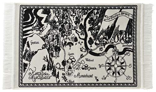 丸眞 玄関マット Moomin ムーミン H60×W100cm ムーミン谷の景色 ベルギー製 ジャカード織 カーペット 1445006900