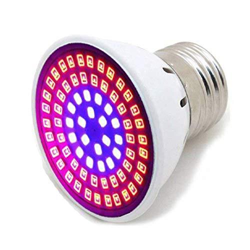 Led Grow Light Bulb LED Grow Lights for Indoor Plants, Plant Grow Lights Bulbs for Indoor Plants Veg and Flower,Seedling (5W)