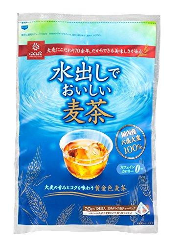 スマートマットライト はくばく 水出しでおいしい麦茶 360g×12袋