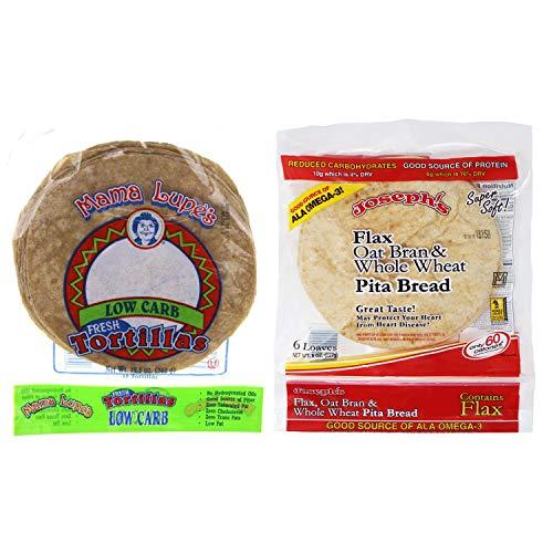 Joseph's Pita and Mama Lupe Tortilla Bundle Pack (Low Carb)