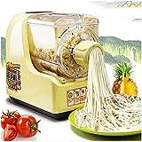 Máquinas Para Pasta Pasta Roller & Cutter Adjunto Set Silver Pack Home Intelligent Fideos Prensa Imitación Mano amable con 7 patrones de fideos Tallarines rápidos en 3 minutos tiene una gran capacidad