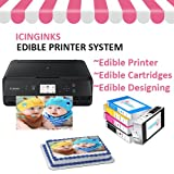 Icinginks Cake Printer Bundle System - Includes Wireless Photo Printer, Set of 5 - Best Reviews Guide