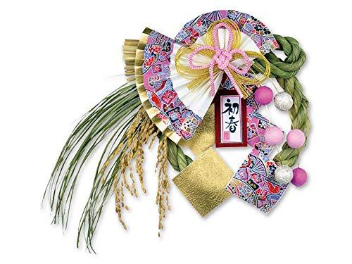 正月飾り しめ飾り 玄関飾り 国産品 70181 越後魚沼飾り 桃寿