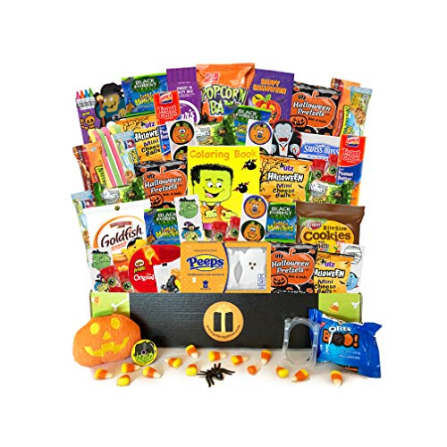Halloween Care Package 65 Count Assortment - Lots of Treats