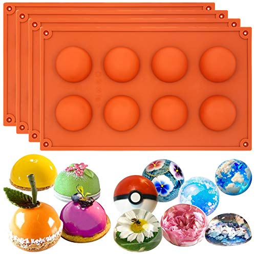 8 Cavity Silicone Chocolate Mold