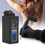 Mini fuente de alimentación inalámbrica para tatuajes Pantalla LED Portátil 2000mAh Máquina de pluma de tatuaje Batería Pluma Conector RCA