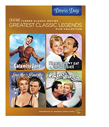 TCM Greatest Classic Legends Film Collection: Doris Day (Calamity Jane / Please Don't Eat the Daisies / Love Me or Leave Me / Romance on the High Seas)