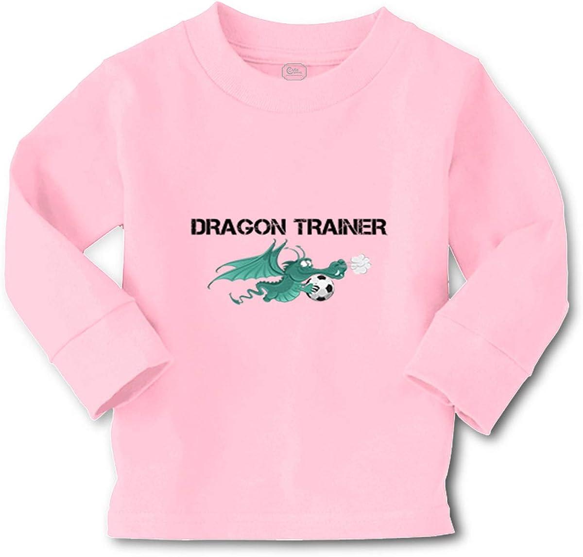 Kids Long Sleeve T Shirt Dragon Trainer Cotton Boy & Girl Clothes