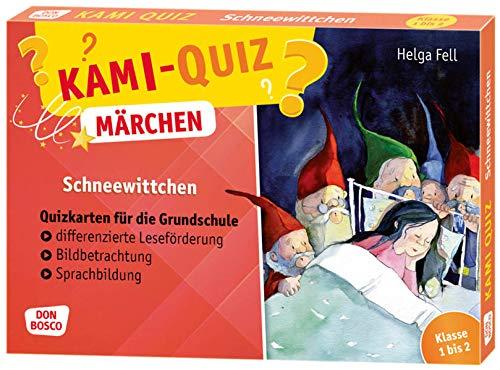 Kami-Quiz Märchen: Schneewittchen: Quizkarten für die Grundschule: differenzierte Leseförderung, Bildbetrachtung, Sprachbildung. Klasse 1 bis 2. ... Bildbetrachtung und Sprachbildung)