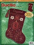 Bucilla - Holiday Elegance - Beaded Felt Stocking Kit 84306