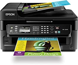 Epson Workforce WF-2540 Wireless Color All-in-One Inkjet Printer with Scanner and Copier - Refurbished